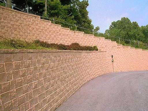 segmental retaining walls concrete wall site concretenetworkcom - Segmental Retaining Wall Design 2