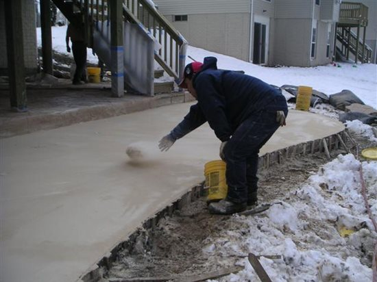 Cold weather concreting tips for preparing to place for Concrete freezing