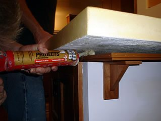 Counter Caulking Site Solid Solutions Studios Fresno, CA