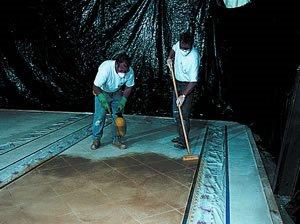 Covering Floor Site L.M. Scofield Company Douglasville, GA