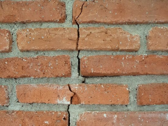 Cracked Bricks Houston