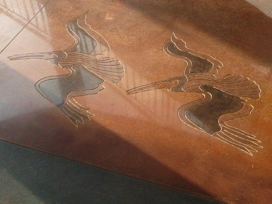 基地装饰混凝土研究所寺庙,佐治亚州