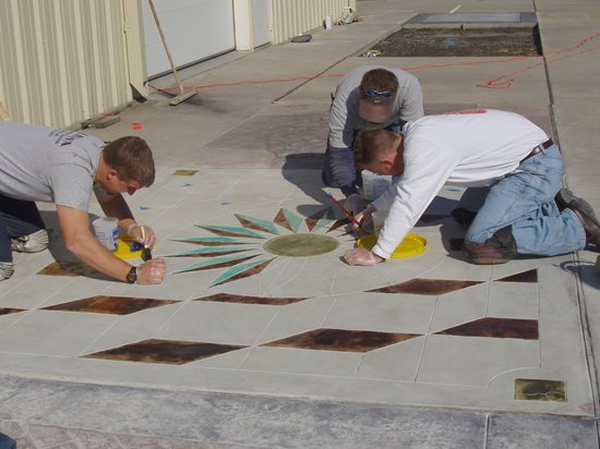 Site Decorative Concrete Institute Temple, GA