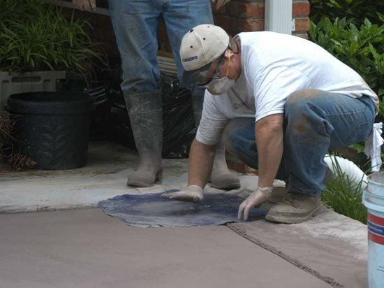 How To Stamp Concrete Stamping Concrete 101 The