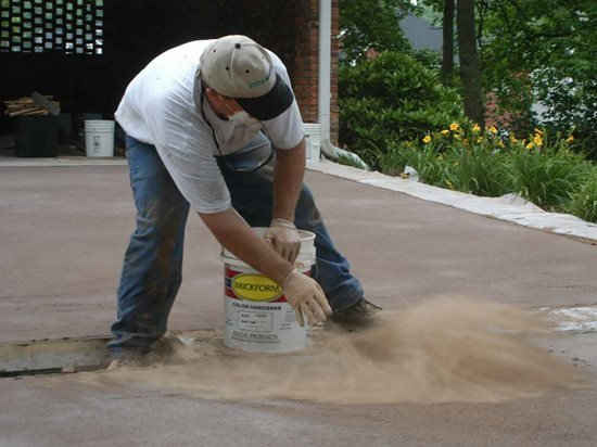 Stamped Concrete How To The Concrete Network