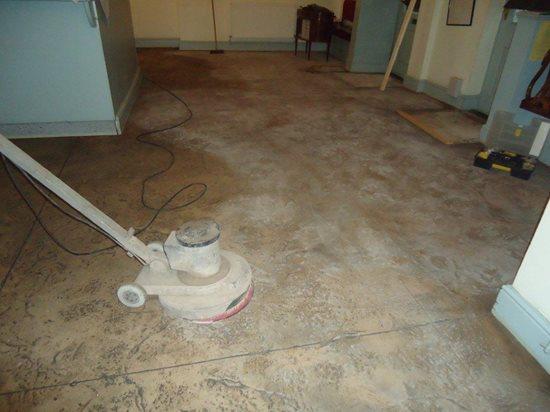 Old Floor, Grinding Site Bomanite Group International ,