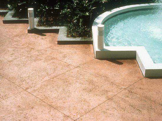 Rock Salt Finish Textured Concrete The Concrete Network