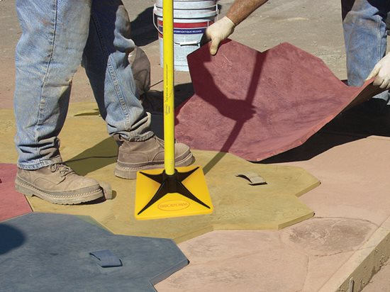Stamped Concrete Touch Up Tools The Concrete Network