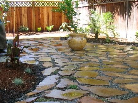Superior Site Terra Nova Ecological Landscaping ,. An Urbanite Patio Stained With  Iron ...