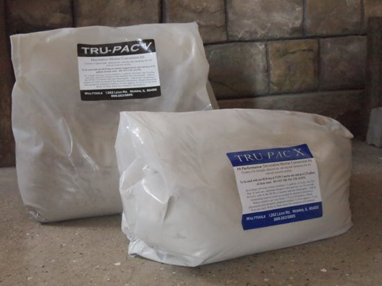 Tru Pac, Mortar Conversion Site Walt Tools