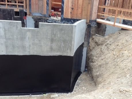 Waterproofing for concrete foundations the concrete network - Sealing exterior cinder block walls ...