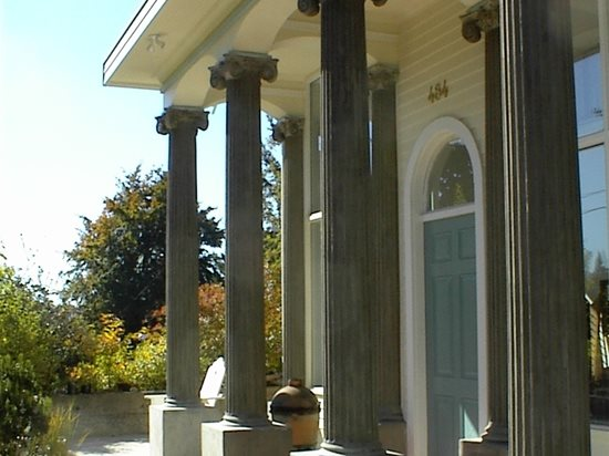 Grey, Columns Architectural Details Absolute ConcreteWorks Port Townsend, WA