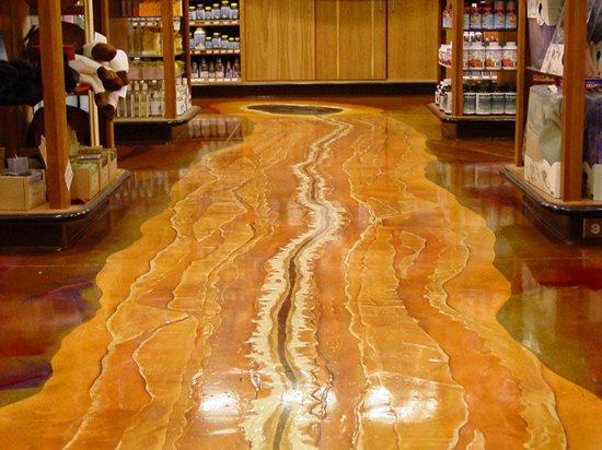 Stream, Walkway Commercial Floors Colormaker Newbury, OH