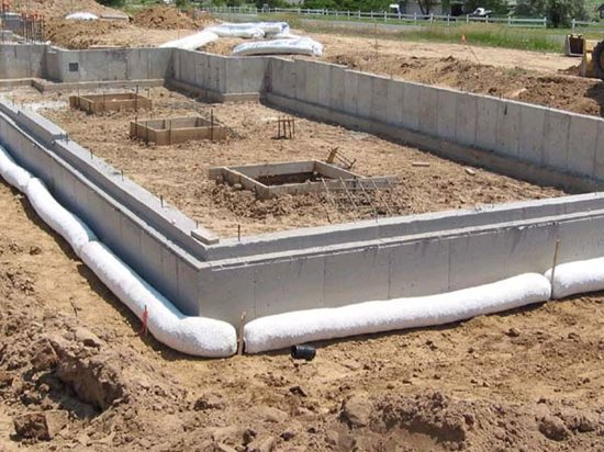 Drainage Boards for Foundation Waterproofing - The Concrete Network