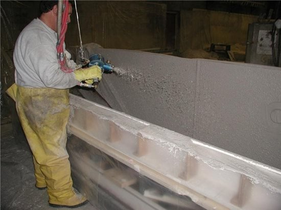 Fiber Cement Mix : Gfrc mix and materials the concrete network