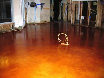 Concrete Floors Deco-Crete Studios Gretna, LA
