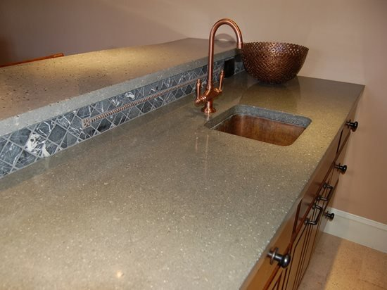 Concrete Countertops - Pros, Cons, DIY & Care - The Concrete Network