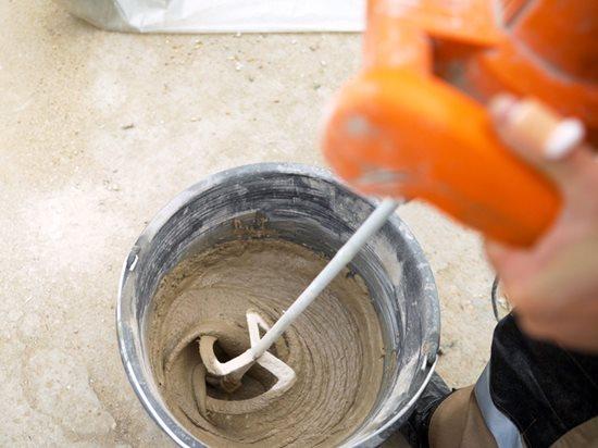 Mixing Concrete, Bucket, Drill Site Shutterstock