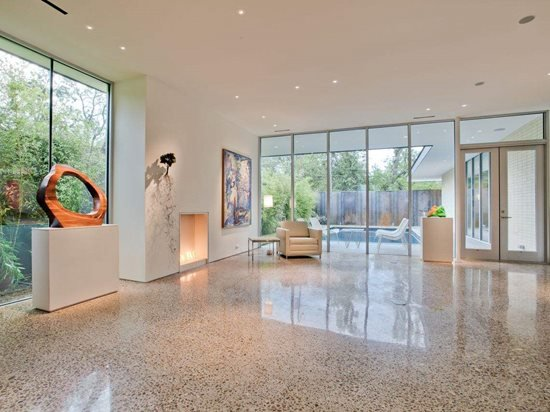 Polished Concrete - Information & Ideas for Polishing Floors - The