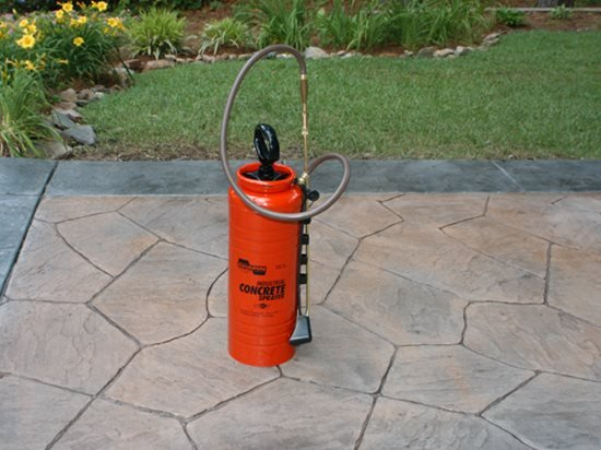 Concrete Sealer Sprayer