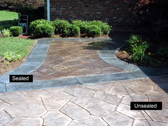 Concrete Sealer The Best Sealers For Your Project The Concrete - Behr wet look paver sealer