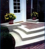 Porche Site Artisticrete, LLC Noblesville, IN