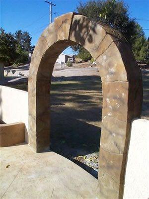 Arch Architectural Details Pristine Concrete LLC Paso Robles, CA