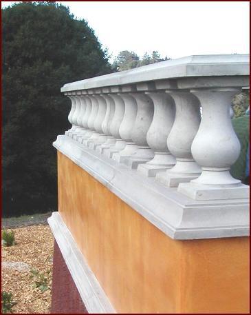 Ballard, Hand Rail Architectural Details Monterey Bay Cast Stone Watsonville, CA