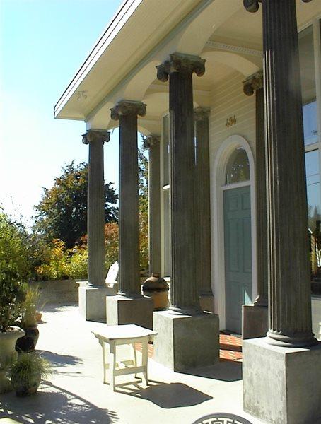 Grey, Columns Architectural Details Absolute ConcreteWorks Port Townsend, WA