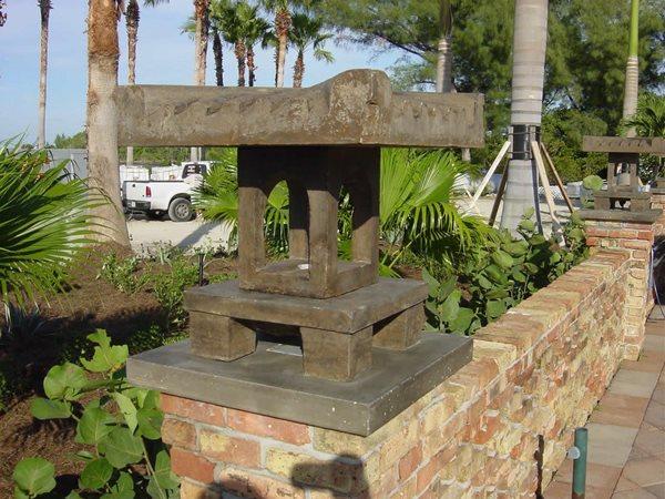 Light Pilar Architectural Details Concrete -N- Counters Lutz, FL