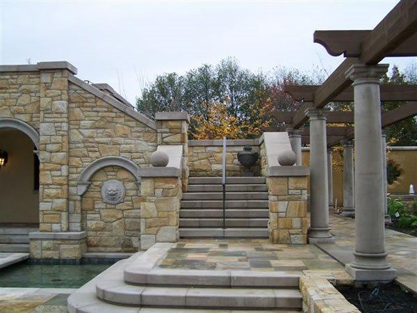 Precast Columns Architectural Details DreamCast Design and Production Richmond, BC