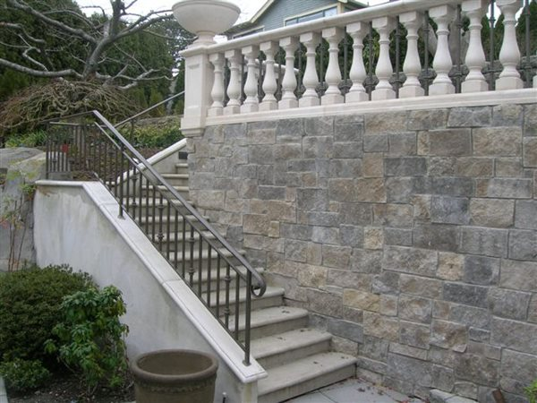 Stairs, Bannister Architectural Details Absolute ConcreteWorks Port Townsend, WA
