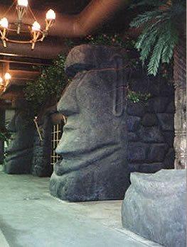 Statue, Rockwork Architectural Details LA Concrete Works West Hills, CA