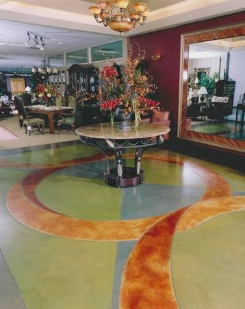 Geometric, Pastel Artistic Concrete AFS Creative Finishes Sacramento, CA