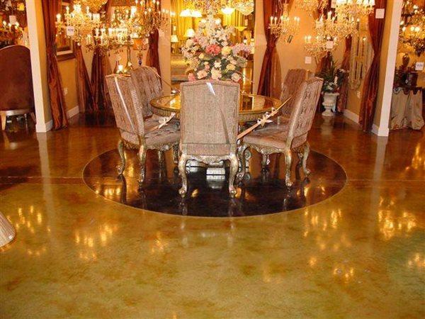 Brown Floors CustomCrete Saint Peters, MO