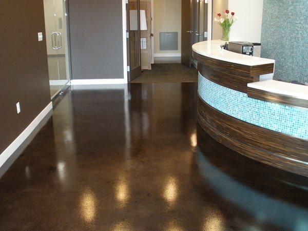 Brown Foyer Floor Commercial Floors Brown's Services Incorporated/Celtic Flooring Manassas Park, VA
