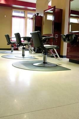 Clean, Beige Commercial Floors Bomanite Corporation Madera, CA