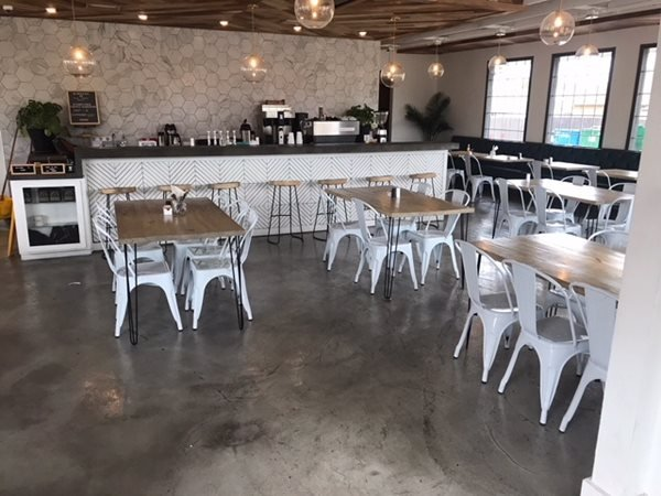 Coffee Shop, Concrete Flooring Commercial Floors Sealwize of Oklahoma Oklahoma City, OK