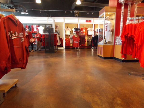 Commercial Concrete Floor, Retail Concrete Floor Commercial Floors Sundek of Washington Chantilly, VA