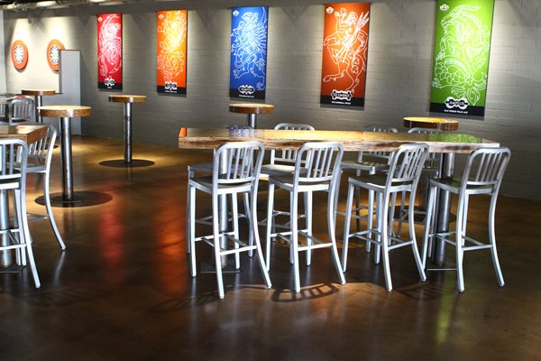 Concrete Brewery Floor Commercial Floors Life Deck Coating Installations San Diego, CA