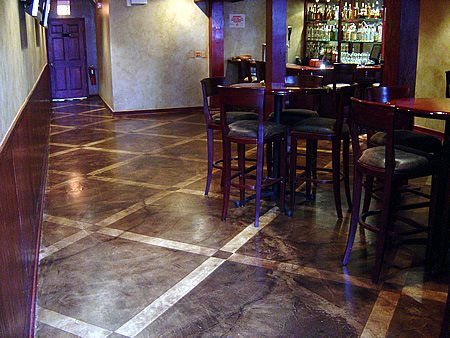 Dark, Lattice Commercial Floors Chicago Concrete Studio Inc Blue Island, IL