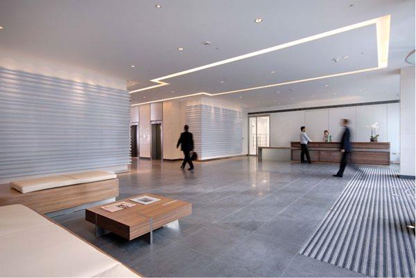Gray Floor, Lobby Floor Commercial Floors THJ Solutions Epsom, Surrey