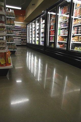 Grocery Floor Commercial Floors Concrete Floors Polishing & Sealing Ltd Ottawa, ON