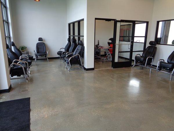 Lobby Floor, Polished Concrete Commercial Floors Haywood Floor Covering Inc. Gloucester, VA