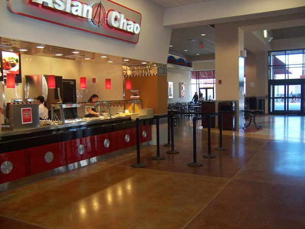 Mall, Stained Concrete Commercial Floors Architectural Concrete Design Levittown, PA