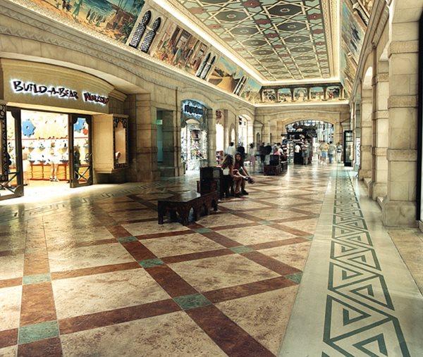 Mall, Walkway Commercial Floors Brickform Rialto, CA
