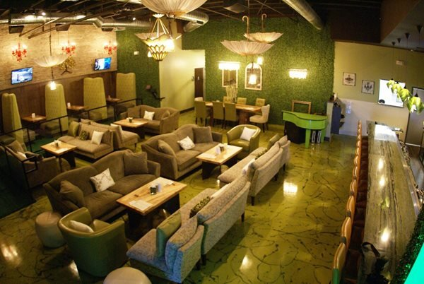 Metallic Flooring, Wine Lounge Floor Commercial Floors A-Plus Concrete Construction Fresno, CA