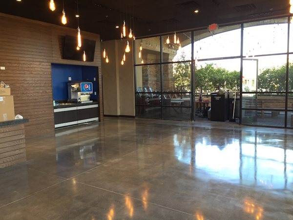 Polished Concrete Floors, Greek Restaurant Commercial Floors Sleek Floors Inc Henderson, NV