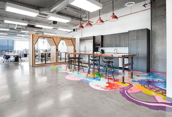Polished Concrete, Office Flooring Commercial Floors Rad Concrete Coatings LLC Riverton, UT
