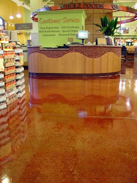 Red, Shine Commercial Floors Colormaker Newbury, OH